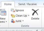 Outlook_CleanUpIgnore