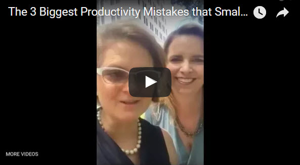 the 3 biggest productivity mistakes that small business