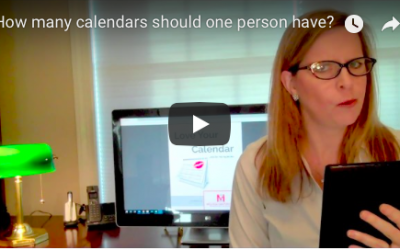 How many calendars should one person have? – VIDEO