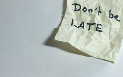 What To Do When You're Perpetually Late…