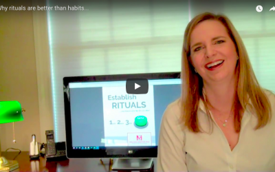 Why rituals are better than habits… VIDEO