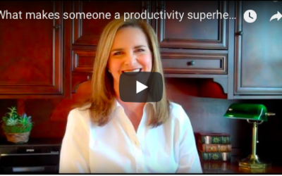 What makes someone a productivity superhero?