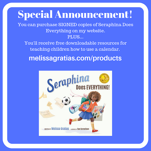 Purchase a signed copy of Seraphina Does Everything